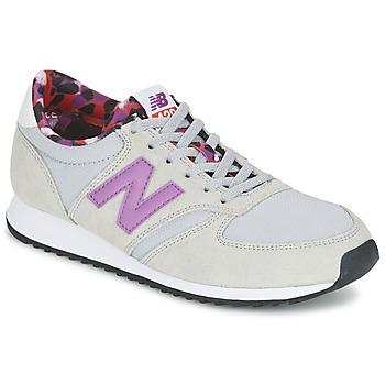 Sapatos Mulher Sapatilhas New Balance WL420 Cinza / Violeta