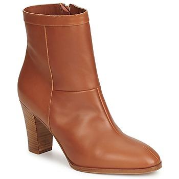 Sapatos Mulher Botins Sonia Rykiel 654803 Castanho