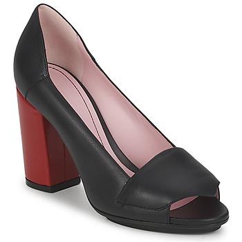 Sapatos Mulher Escarpim Sonia Rykiel 657940 Preto / Vermelho