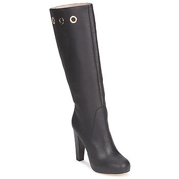 Sapatos Mulher Botas Escada EUDOXIE Preto