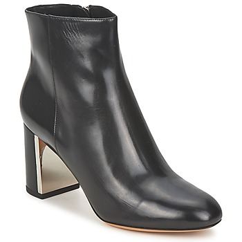 Sapatos Mulher Botins Michael Kors VIVI Preto