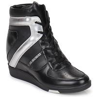 Sapatos Mulher Sapatilhas de cano-alto Bikkembergs JODIE 2 Preto