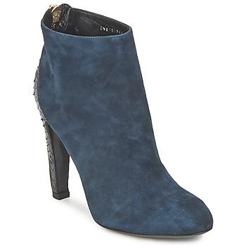 Sapatos Mulher Botas baixas Bikkembergs HEDY 808 Azul / Preto