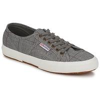Sapatos Homem Sapatilhas Superga 2750 GALLESU Cinza / Branco
