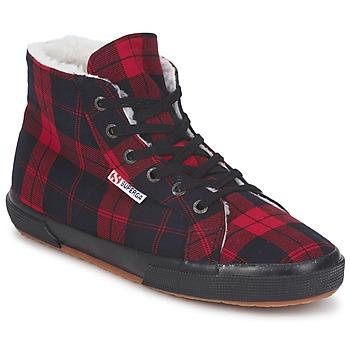 Sapatos Sapatilhas de cano-alto Superga 2095 Vermelho / Preto