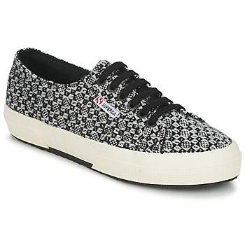 Sapatos Mulher Sapatilhas Superga 2750 FANTASY Preto / Branco