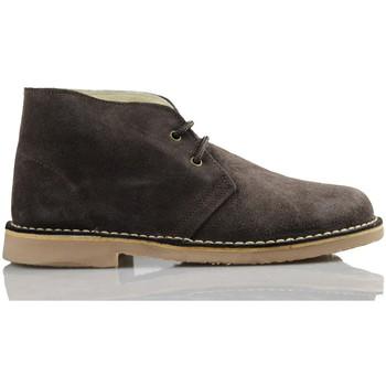 Sapatos Sapatilhas de cano-alto Arantxa ARANCHA PISACACAS COMODOS UNISEX PIEL MARRON