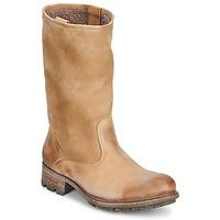 Sapatos Mulher Botas n.d.c. VALLEE BLANCHE KUDUWAXOIL/DFA Castanho
