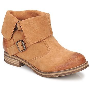 Sapatos Mulher Botas baixas Casual Attitude ELDONE Castanho