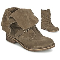 Sapatos Mulher Botas baixas Casual Attitude GRAVINE Castanho