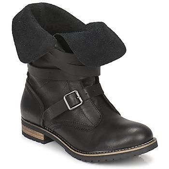 Sapatos Mulher Botas baixas Casual Attitude GRAVINE Preto