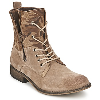 Sapatos Mulher Botas baixas Casual Attitude GRIVO Toupeira