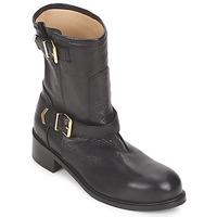 Sapatos Mulher Botas baixas Kallisté 5609 Preto