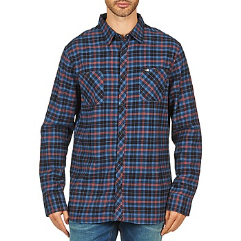 Textil Homem Camisas mangas comprida Rip Curl OBSESSED CHECK FLANNEL L/S SHIRT Azul