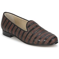 Sapatos Mulher Mocassins Etro FLORINDA Castanho / Preto