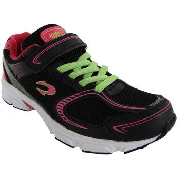 Sapatos Rapaz Sapatilhas John Smith ROXI 15V Negro