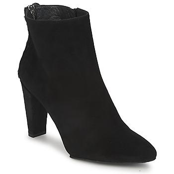 Sapatos Mulher Botas baixas Stuart Weitzman ZIPMEUP Preto