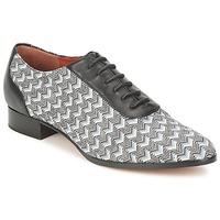 Sapatos Mulher Richelieu Missoni WM076 Preto / Cinza