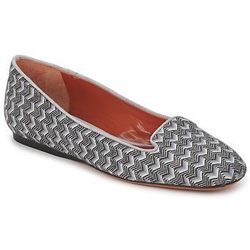 Sapatos Mulher Mocassins Missoni WM079 Cinza