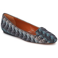 Sapatos Mulher Mocassins Missoni WM004 Azul
