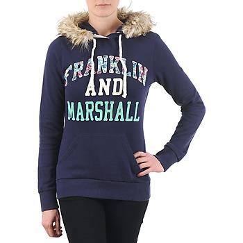 Textil Mulher Sweats Franklin & Marshall COWICHAN Marinho
