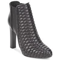 Sapatos Mulher Botins Roberto Cavalli WDS227 Preto