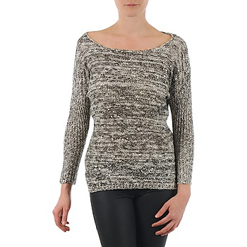 Textil Mulher camisolas Yas AMILIA KNIT PULLOVER Bege
