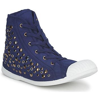 Sapatos Mulher Sapatilhas de cano-alto Wati B BEVERLY Marinho
