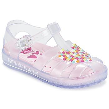 Sapatos Rapariga Sandálias Agatha Ruiz de la Prada BASILA Branco