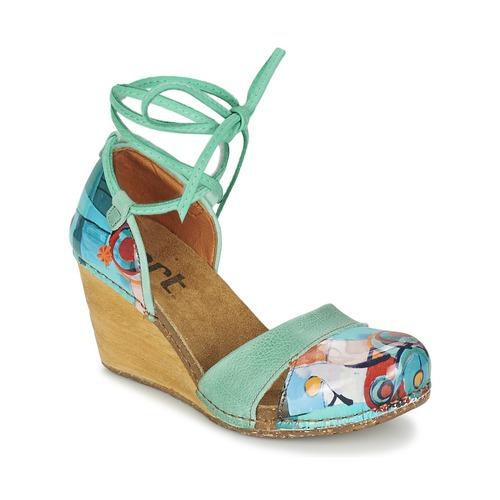 Sapatos Mulher Sandálias Art VALBY 499 Verde