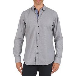 Textil Homem Camisas mangas comprida Hackett MEDALLION MULTI BD Azul