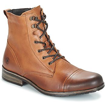Sapatos Homem Botas baixas Casual Attitude RIBELLE Camel