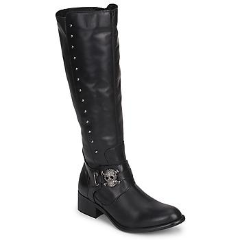 Sapatos Mulher Botas Betty London RIME ROCK Preto