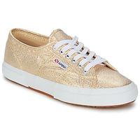 Sapatos Mulher Sapatilhas Superga 2751 LAMEW Ouro