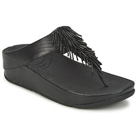 Sapatos Mulher Chinelos FitFlop CHACHA Preto