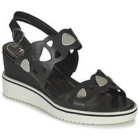 Sapatos Mulher Sandálias Tamaris MAGDA Preto