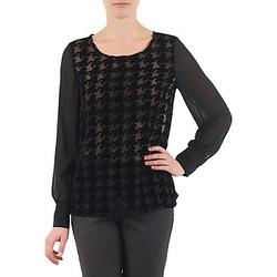 Textil Mulher Tops / Blusas La City ML FLOCK P Preto