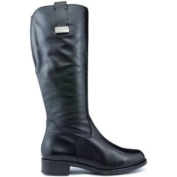 Sapatos Mulher Botas CallagHan Botas  BOND RIDE PRETO