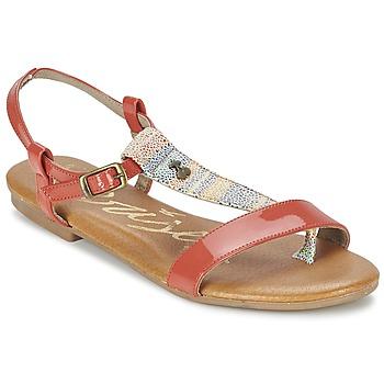 Sapatos Mulher Sandálias Le Temps des Cerises CARLY CORAIL Coral