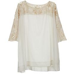 Textil Mulher Tops / Blusas Stella Forest ATU030 Bege