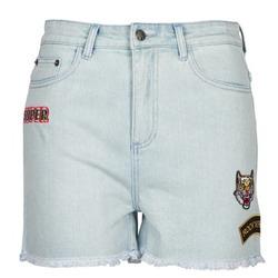 Textil Mulher Shorts / Bermudas American Retro BORIS Azul