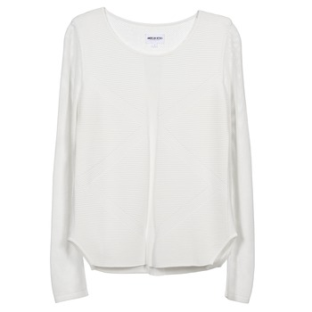 Textil Mulher camisolas American Retro GEMMA Branco