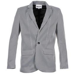 Textil Mulher Casacos/Blazers American Retro JACKYLO Branco / Preto