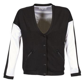 Textil Mulher Jaquetas American Retro CHARONNE Preto / Branco