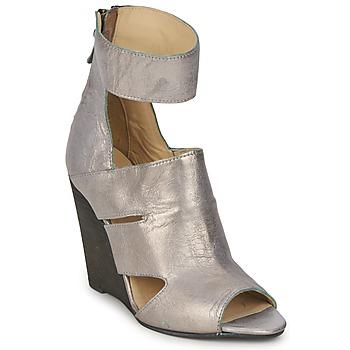 Sapatos Mulher Sandálias Dkode THETIS Cinza / Pérola