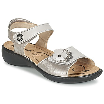 Sapatos Mulher Sandálias Romika IBIZA 67 Prateado