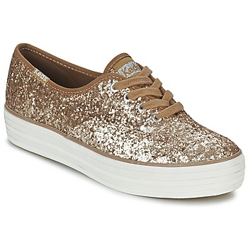 Sapatos Mulher Sapatilhas Keds TRIPLE GLITTER Ouro