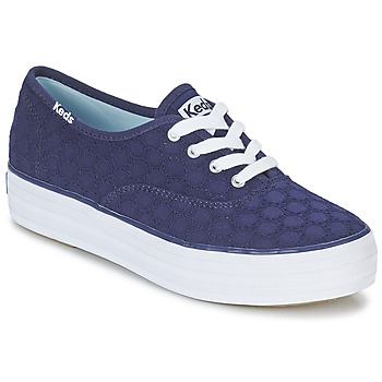 Sapatos Mulher Sapatilhas Keds TRIPLE EYELET Marinho