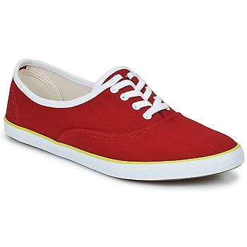 Sapatos Mulher Sapatilhas Veja DERBY Vermelho