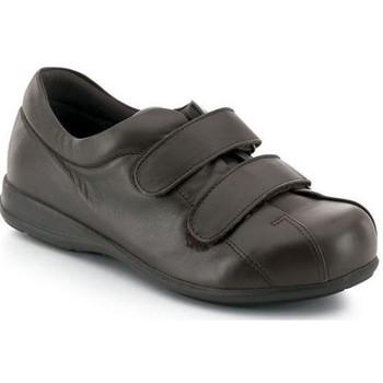 Sapatos Mulher Sapatilhas Calzamedi VELCRO UNISEX PIE DIABETICO MARRON